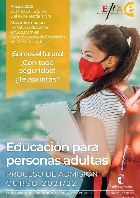 Plazo  prematrícula Bachillerato Nocturno y Bachillerato a Distancia curso2021-2022.
